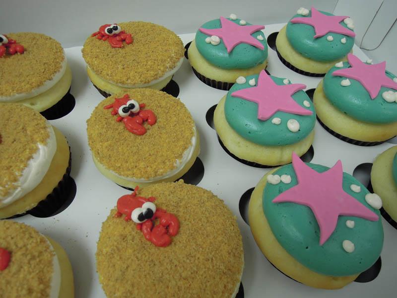 crabstarfish-cupcakes