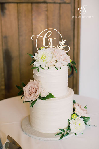 flowers-simple-cake